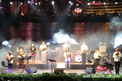 澳門音樂節 - 美國DBR樂隊 @南灣湖畔