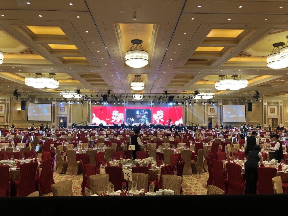 中國銀行周年晚宴