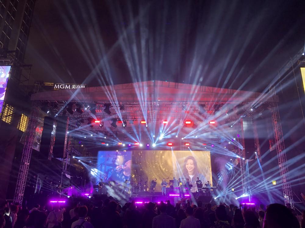 閃耀金光巨星音樂節 (第一部分) @巴黎人